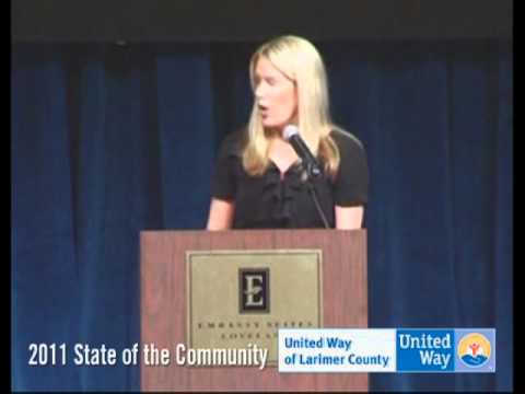 United Way of Larimer County's 2011 State of the Community - Sarah Hach - Bohemian Foundation