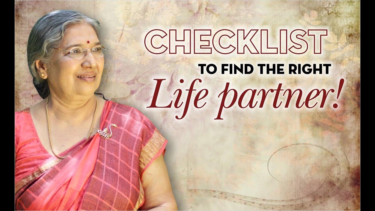 Download Checklist To  Find the Right Life Partner   By Yoga Guru - Hansaji