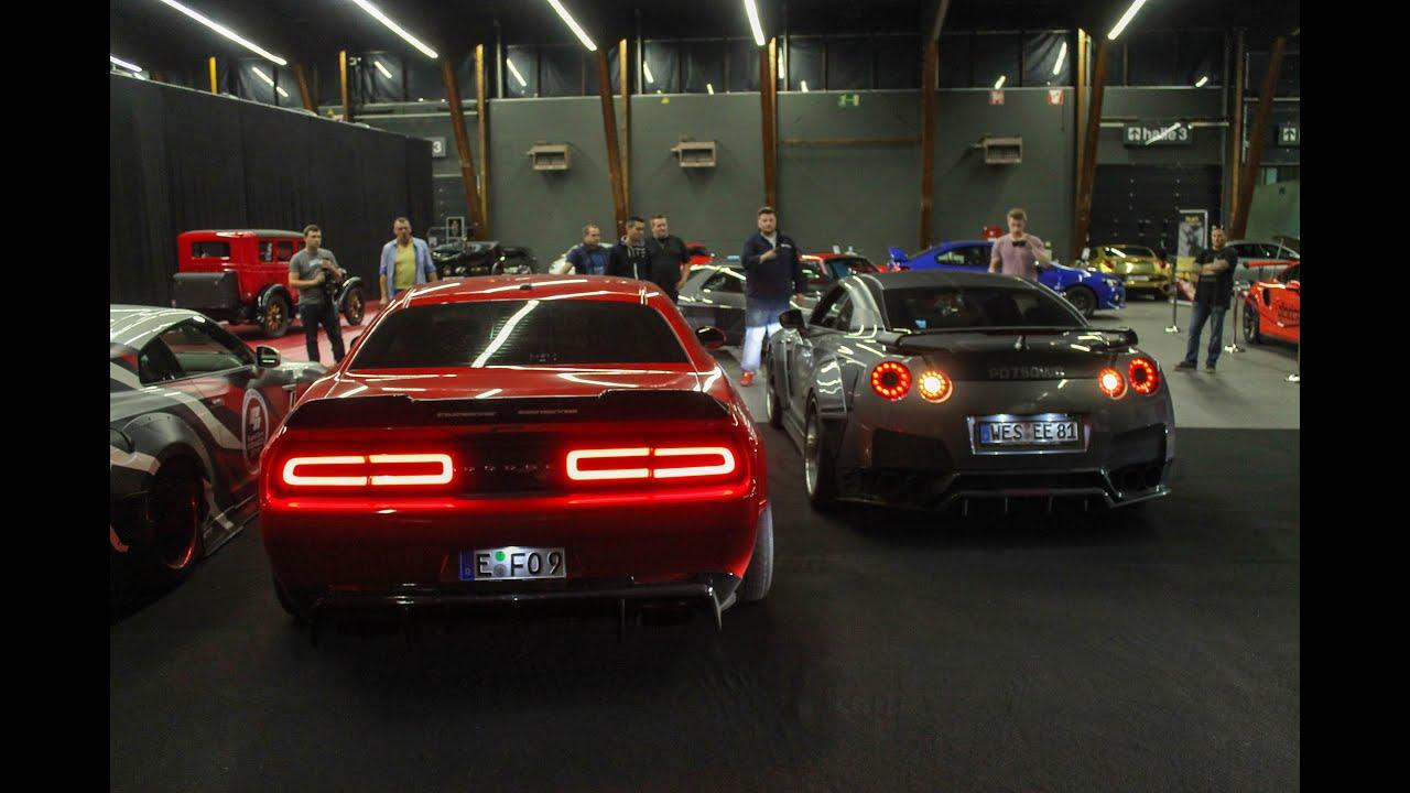 REV BATTLE - Prior 1600HP Nissan Gtr vs. Prior 900HP Dodge Challenger SRT Hellcat - YouTube