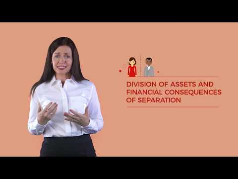 Separating Couples - Division of assets and financial consequences