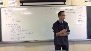 An ingenious & unexpected proof of the Binomial Theorem (2 of 2: Proof)