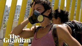 Beirut explosion: the volunteer clearing up the wreckage of her home city