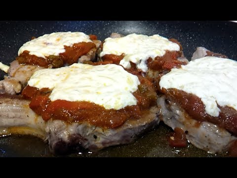 How To Make Low Carb Cheese And Chili Pork Chops
