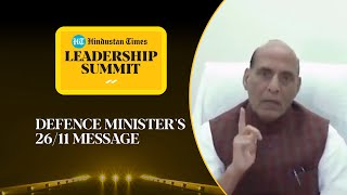 'Another 26/11 impossible': Rajnath Singh on countering Pak terror #HTLS2020