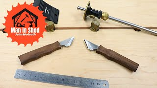 Making Marking knives From a Plane Blade!