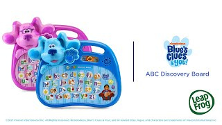 Blue's Clues & You!™ ABC Discovery Board | Demo Video | LeapFrog®