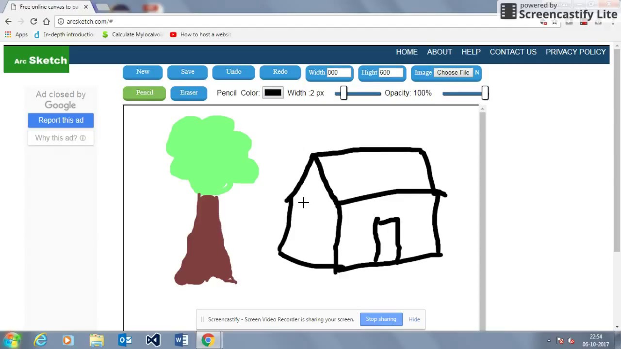 arcsketch is free online