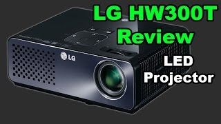 LG HW300T Micro Portable LED Projector Review