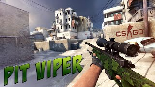 �������� ���� CS:GO - AWP | Pit Viper Gameplay ������