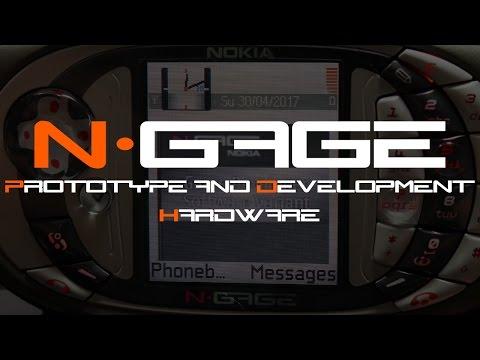 Nokia N-Gage : Prototype QD Demo and Development Units