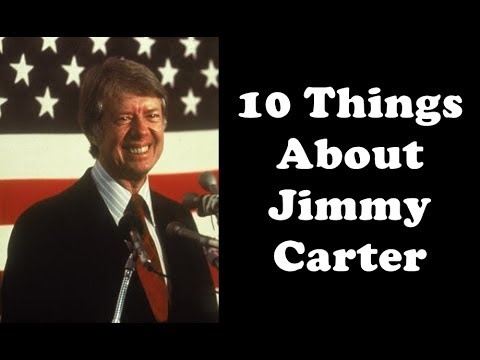 10 Things You Might Not Know About Jimmy Carter Youtube