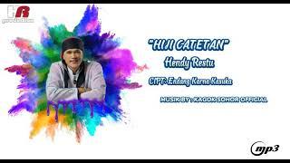 HIJI CATETAN - HENDY RESTU (MP3 COVER)