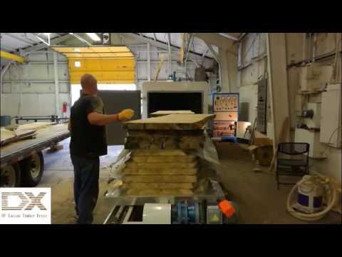 3USA high frequency vacuum wood drying machine