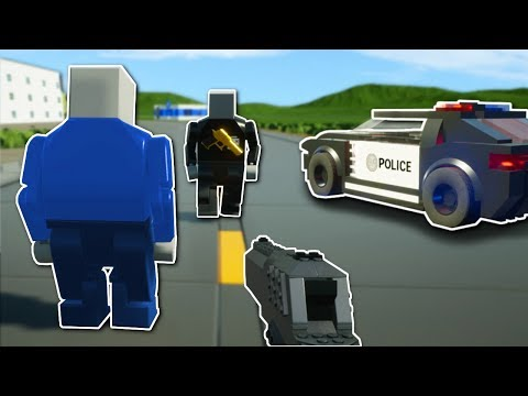 2v2 COPS and ROBBERS! - Brick Rigs Multiplayer Gameplay - Cops and Robbers Challenge!