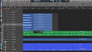 Logic Pro X - Video Tutorial 12 - Snap Modes, Absolute Grid, Relative Grid
