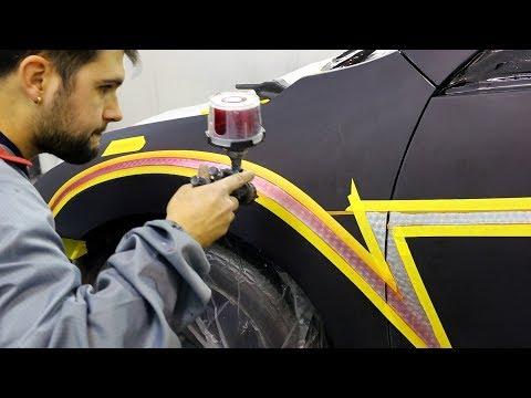 Custom Painted Dragon Ball Z Car!