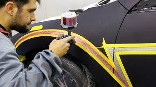 Custom Painted Dragon Ball Z Car! Video