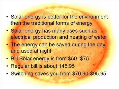 Solar Energy Ad Campaign