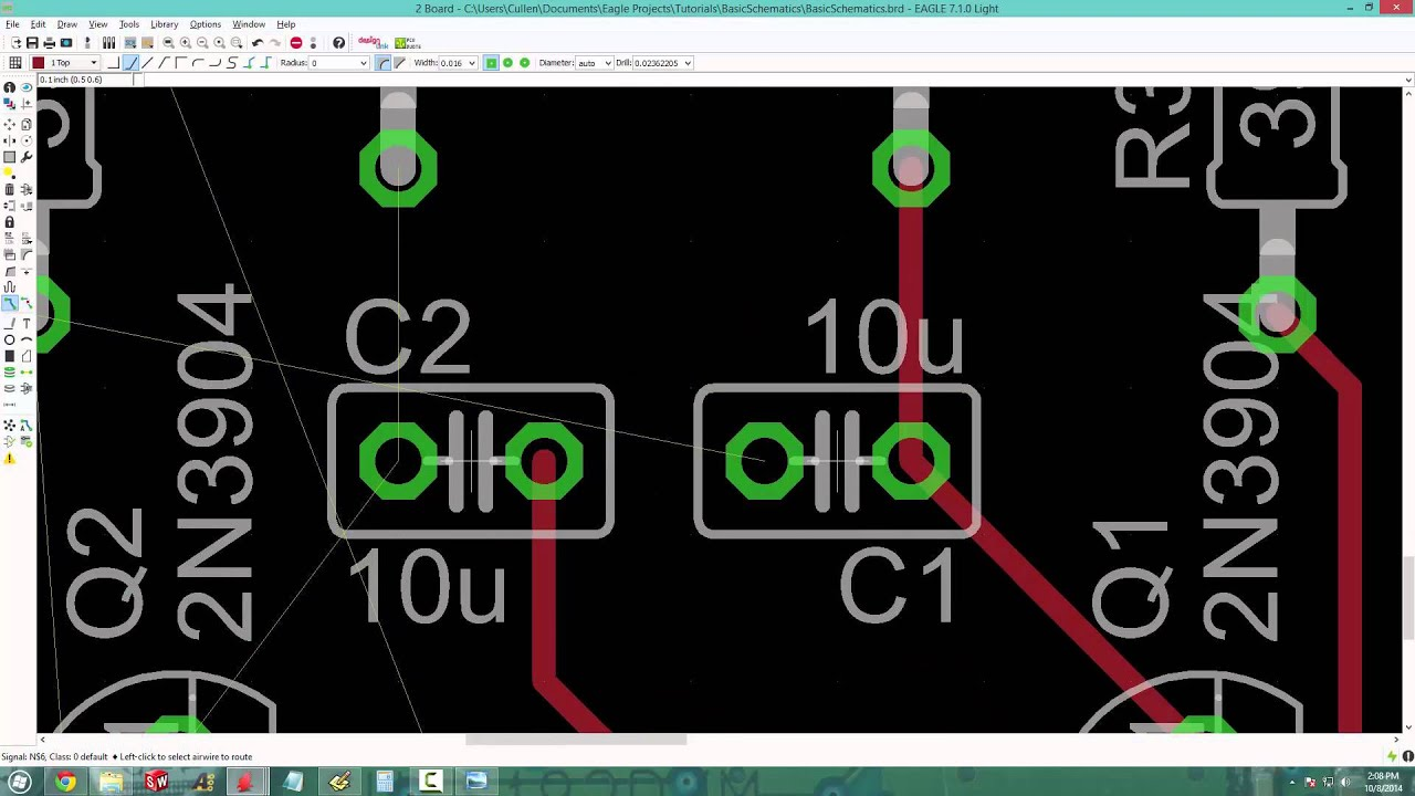 Cute Eagle Pcb Layout Images - The Best Electrical Circuit Diagram ...