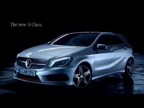 new mercedes a class 250 spot tv pubblicit tv classe a. Black Bedroom Furniture Sets. Home Design Ideas