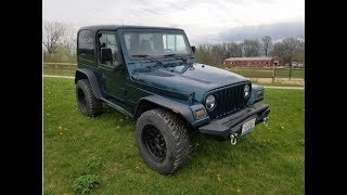 My Jeep TJ Looks New Again! Update After Restoration!
