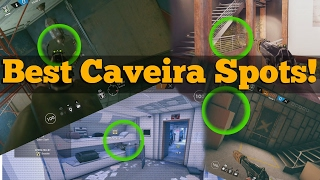 Did You Know About These Caveira Hiding Spots? Rainbow Six Siege Year 2