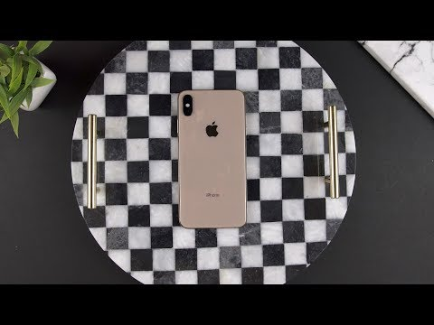 iPhone XS Max Gold Unboxing (Dual SIM)