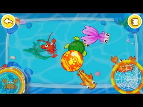 Baby Panda Happy Fishing - Learn & Explore The Sea, Learn about Sea Animals - BabyBus Games for Kids
