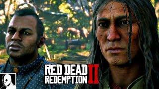 Red Dead Redemption 2 Gameplay German PS4 #53 - Indianer Horse Power (Let's Play Deutsch)
