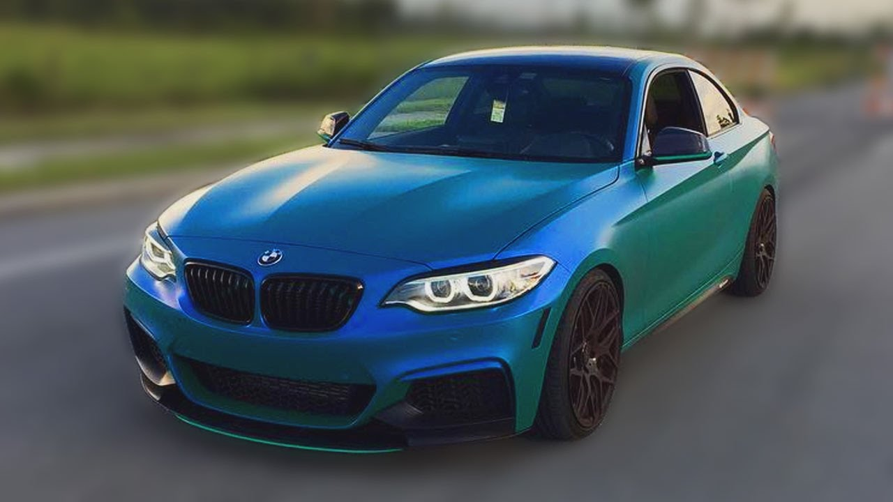Bmw 235i Receives A 3m Caribbean Flip Youtube