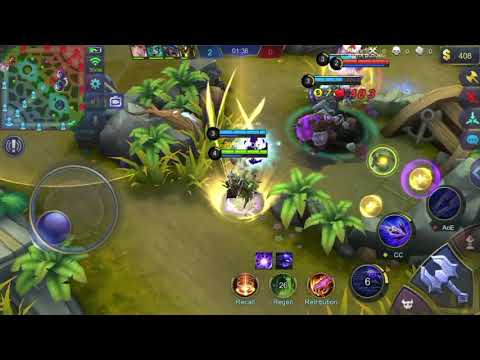 Mobile Legend on iPhone 6 (iOS Screen recorder)