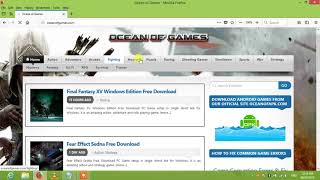 Game downloading websites (oceans of games)