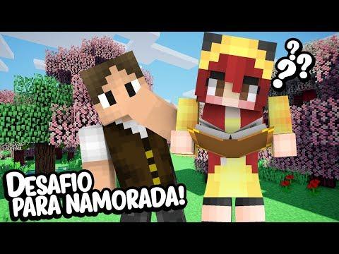 Minecraft Épico #97: FIZ UM DESAFIO ÉPICO PARA A MINHA NAMORADA!