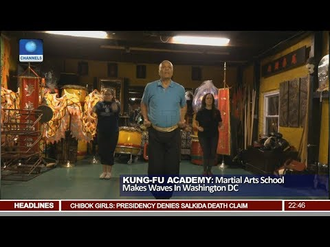Kung-Fu Academy: Martial Arts School Makes Waves In Washington DC