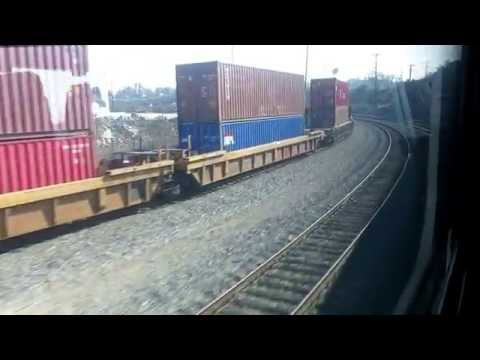 Metrolink train ride from Los Angeles Union Station to San Bernardino
