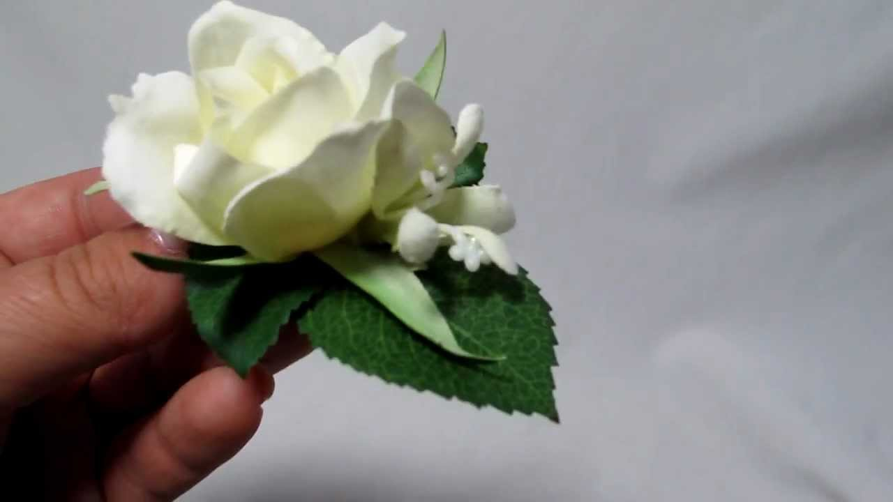 Small white ivory real touch rose and jasmine flower hair clip 7781 small white ivory real touch rose and jasmine flower hair clip 7781 mightylinksfo