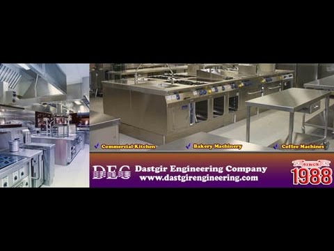 Commercial Kitchen Equipment | By Dastgir Engineering Pakistan |Importer Of Food Processing Machines