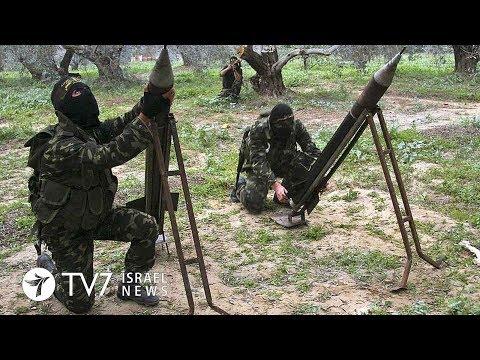Palestinian Islamists launch more than 70 rockets from Gaza toward Israel - TV7 Israel News 30.05.18