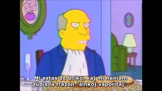 steamed hams but it's a bad fandub with Esperanto subtitles