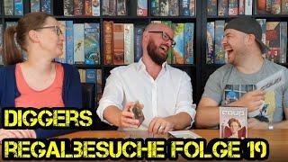 Regalbesuche - Digger bei Euch zu Gast - Folge 19 -  Pauline & Lutz - Brettspiele - Boardgame Digger