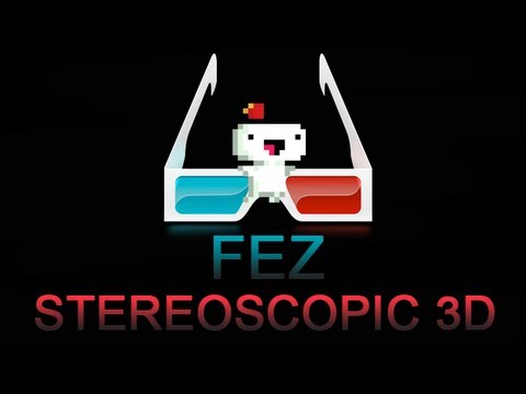 Fez - Stereoscopic (Red/Cyan) 3D Glasses Mode: New Game ++ (HD)