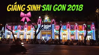 Saigon giáng sinh 2018 đẹp lộng lẫy làm sao