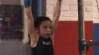 1yr progress 5 6 yr old gymnastics