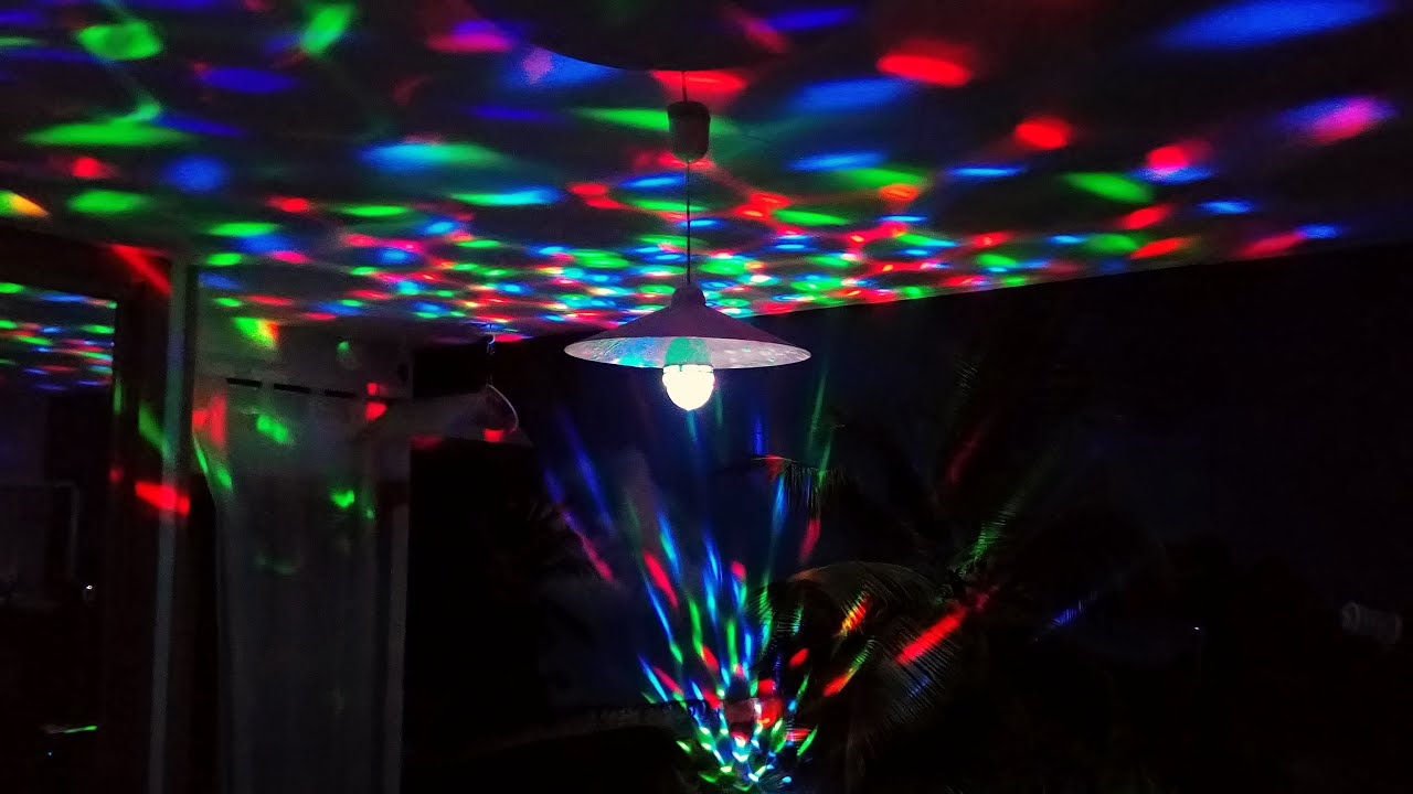 Tsss Rotating Rgb Led 3d Effect Stage Light Party Dj Disco