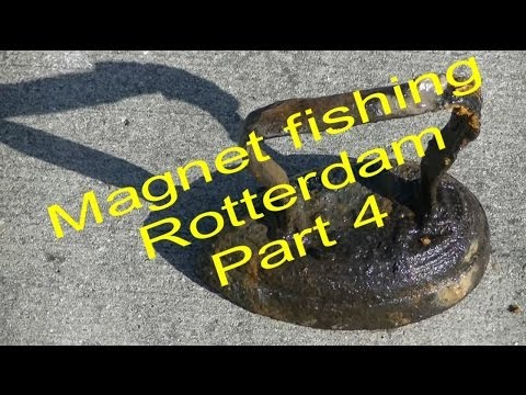 Magneetvissen magnet fishing rotterdam part4 viyoutube for Best places to magnet fish