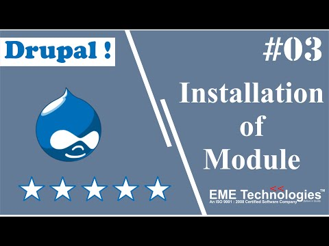 How to Install a Module in Drupal thumbnail
