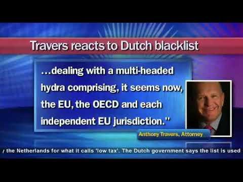 Dutch blacklists Cayman, Travers: It's no surprise