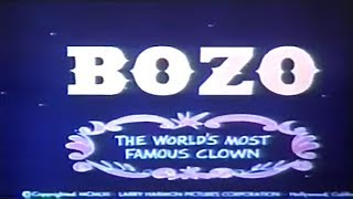Bozo The World s Most Famous Clown 1958 Opening