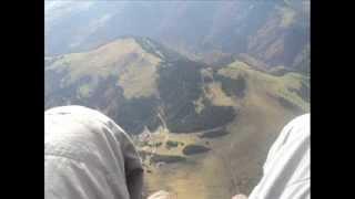 Zbor cu Parapanta de pe Valea Blaznei