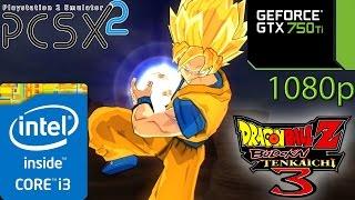 Dragon Ball Z: Budokai Tenkaichi 3 (PCSX2) - i3 4150 - 8GB RAM - GTX 750 ti - 1080p